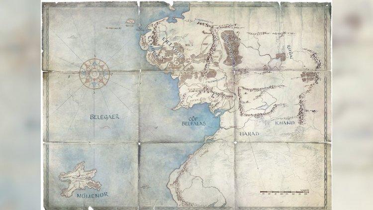Yüzüklerin Efendisi Harita